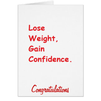 weight loss cards