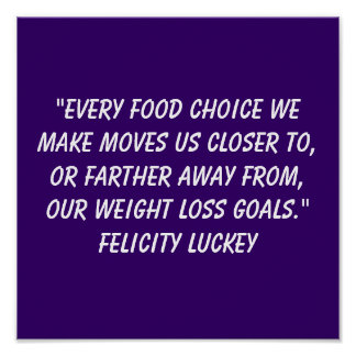 Weight Loss Choices 4 Poster