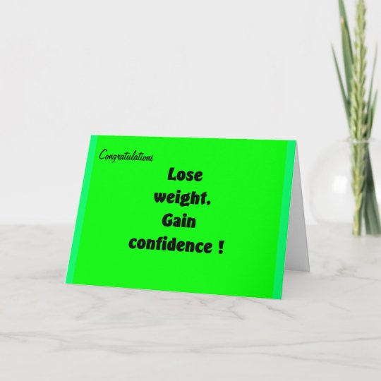 Weight loss congratulations greeting cards zazzle weight loss congratulations greeting cards m4hsunfo