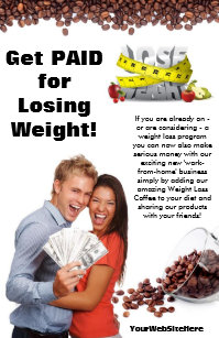 weight loss flyers zazzle