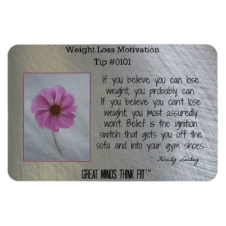 Weight Loss Inspirational Magnet #0101