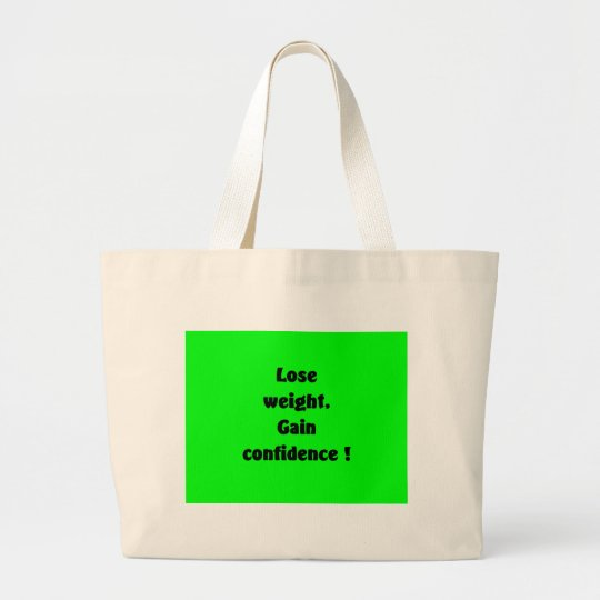 Weight loss large tote bag