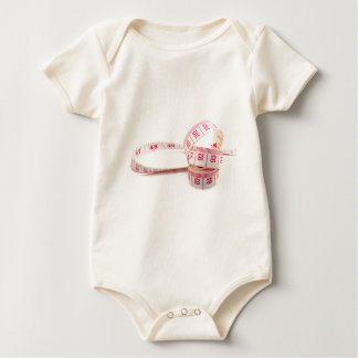 Weight Loss Measuring Tape Baby Bodysuit