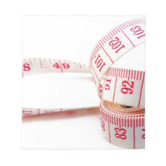 Weight Loss Measuring Tape Notepad