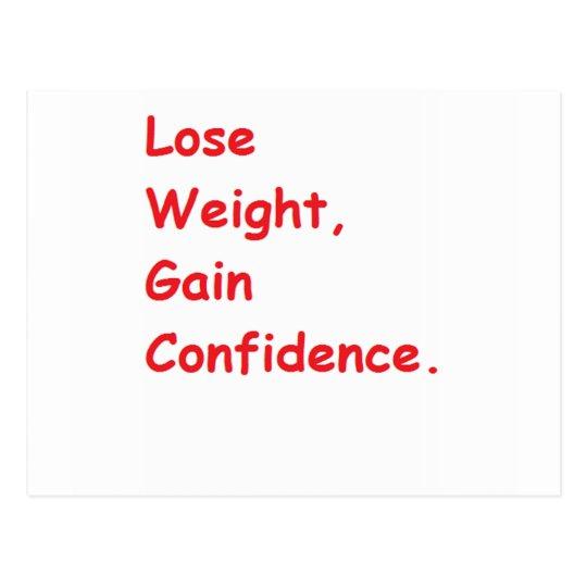 weight loss postcard