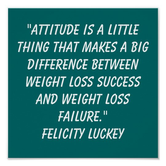 Humor Inspirational Quotes: Weight Loss Quotes Poster