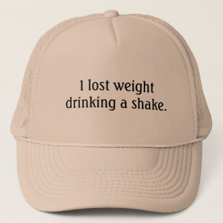 weight loss shake hat