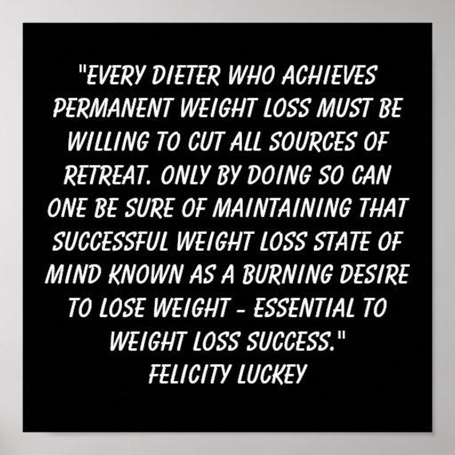 Weight Loss Success 5 Print