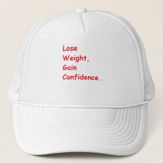 weight loss trucker hat