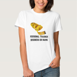Weight Loss, Yellow Tape Measure T Shirt