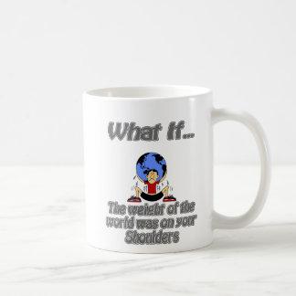 weight of the world coffee mug