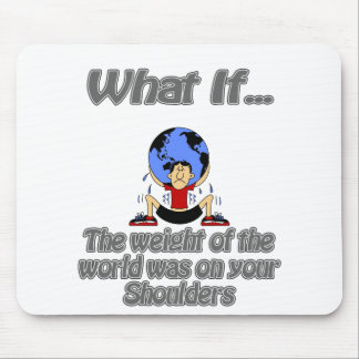 weight of the world mouse pad