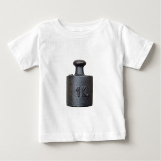 weight - one kilogram t-shirt