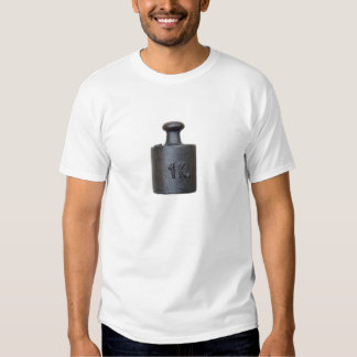 weight - one kilogram t shirt