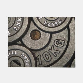 Weight Plates Doormat