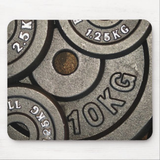 Weight Plates Mouse Pad