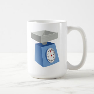 Weight Scale Coffee Mug