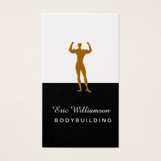 Weight Training Professional Bodybuilding Fitness Business Card