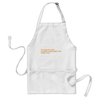 Weight, what? adult apron