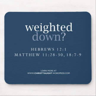Weighted Down Mousepad