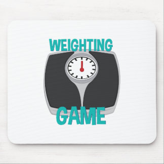 Weighting Game Mouse Pad