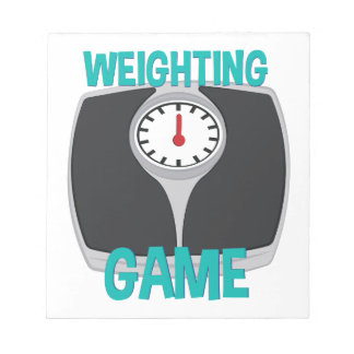 Weighting Game Notepad