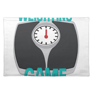 Weighting Game Placemat