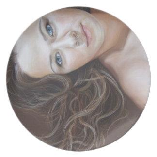 Weightless Fine Art Portrait Plates By David Wells