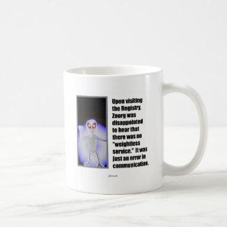 Weightless Service (domain theme) Coffee Mug