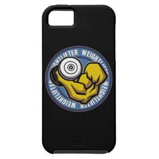 Weightlifter Barbell Curl iPhone 5 Cases