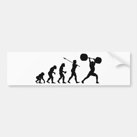 Weightlifter Bumper Sticker