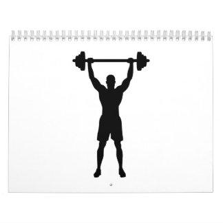 Weightlifter Calendario