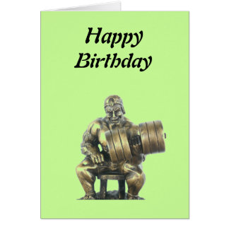 Weightlifter Greeting Cards