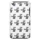 Weightlifter de la panda del bebé 3d iPod touch Case-Mate cárcasa