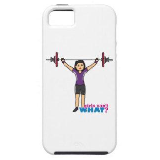 Weightlifter Girl - Medium iPhone SE/5/5s Case
