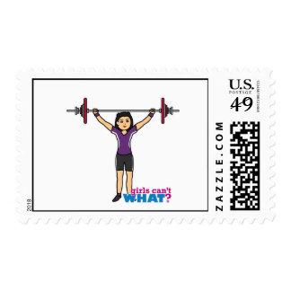 Weightlifter Girl - Medium Postage