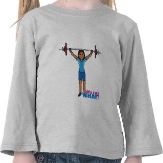Weightlifter Girl T-shirt
