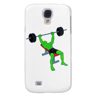 Weightlifter verde Benchpress
