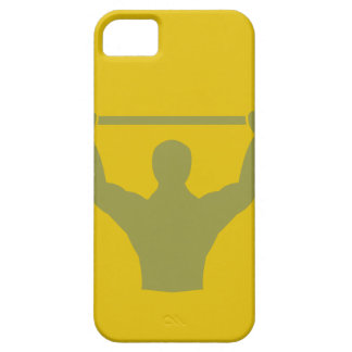 Weightlifter Workout T-shirt Graphic iPhone 5 Cover