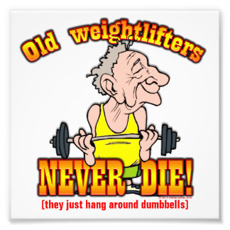 Weightlifters Photo Print