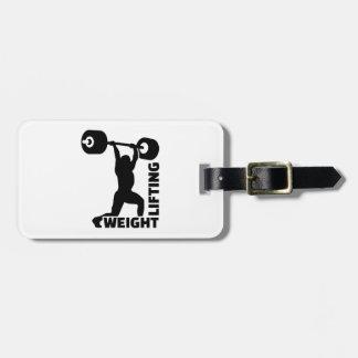 Weightlifting Bag Tag