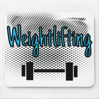 Weightlifting Bar Mouse Pad