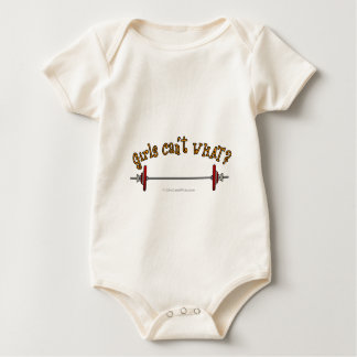 Weightlifting - Barbell Baby Bodysuit