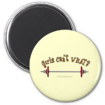 Weightlifting - Barbell Fridge Magnets