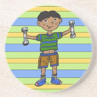 Weightlifting Boy Coaster