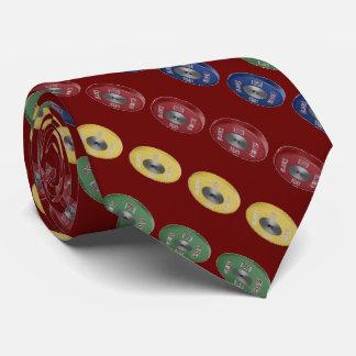 Weightlifting Bumper Plate Tie - Burgandy