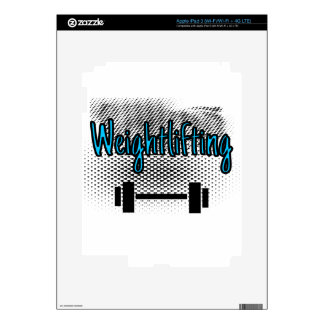 Weightlifting Decal For iPad 3