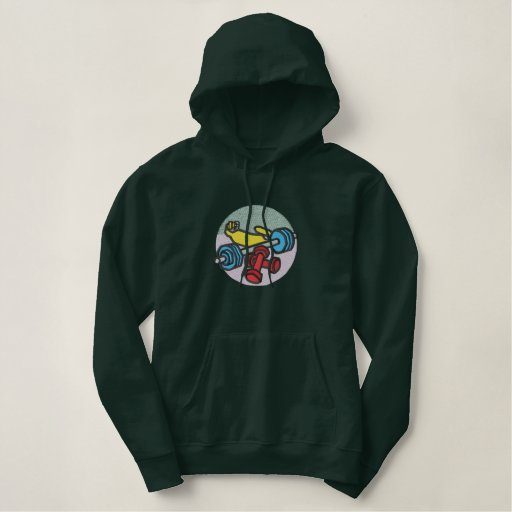 Weightlifting Embroidered Hoodie