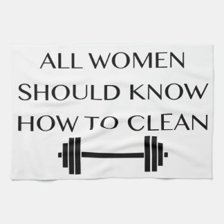 Weightlifting For Women Kitchen Towel