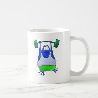 Weightlifting Frog Coffee Mug